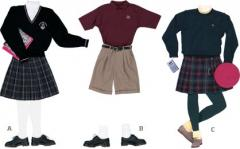 Uniforms for schools