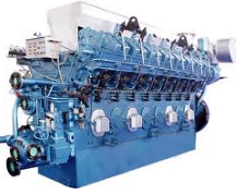 محركات الديزل والبنزين البحريه