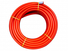 Pipes, tubes, hoses and fittings made of plastic
