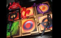 اللوحات الفنية الخشبية