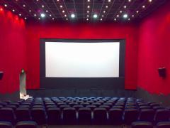 يوجد مجمع السينمات و به 4 دور عرض بالسوق التجارى
