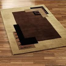 Carpets made of animal skins