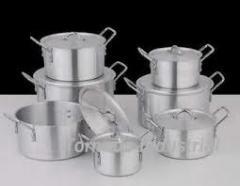 أواني الألمنيوم أواني الطهي المستخدمة في المطبخ