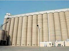 اكبر انواع الصوامع لتخزين كافة انواع الحبوب