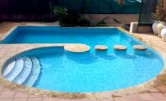 Air conditioning systems for pools