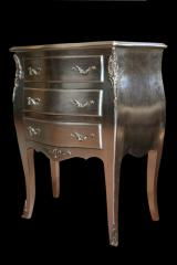 Artificially aged furniture