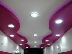 Acoustic suspended ceilings