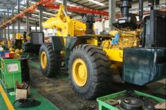 Wheel loader, construction machinery,