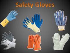 Chain-mail gloves