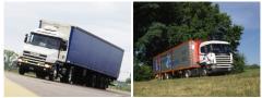 Trucks, goods waggons