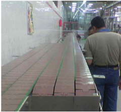 Flat part of the conveyers