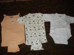 Finished clothing made of cotton fabrics
