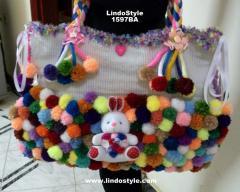 1567BA - Teddy Bear Diappers Bag