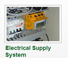 نظام التحكم والتوريد الكهربائى