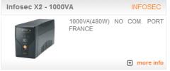 Infosec X2 - 1000VA