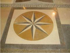 Floors made of Natural stone