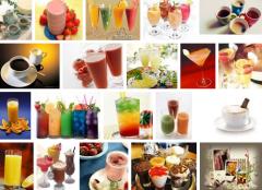 جميع أنواع المشروبات