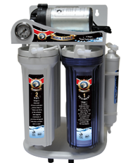 Filters for hot water