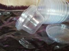 Articles made of plastic for furniture industry