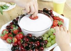 Cream yogurts