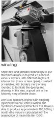 Round knitting machines