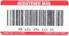 البريد المسجل