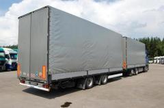 خدمات نقل البضائع