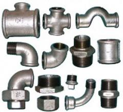 Iron rings for pipes