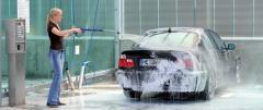 المعدات اللازمة لغسيل السيارات