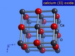 اكسيد الكالسيوم