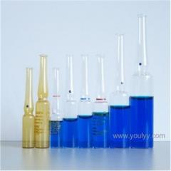Ampoules glass medical