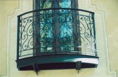 أبواب الشرفات
