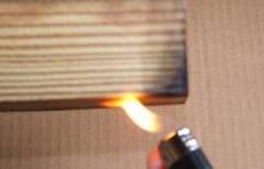 المعالجة الكيميائية ضد الحريق