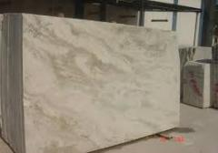 Slabs of marble  and granite