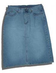 جيب جينز قصيرة