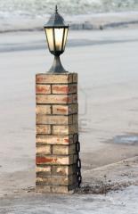 Brick, fashioned