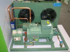 Compressor piston units