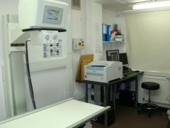 معدات الأشعة السينية