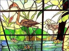 Ornamental acrylic glass