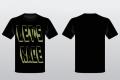 Lets race black cotton t-shirt