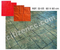 colors printed Concrete