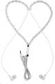 سماعه اذن بتصميم عقد حريمي -Necklace Headset