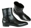 Mens Italian leather boots