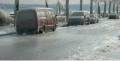 ملح الطرق المخصص لاذابة الجليد