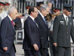 نووي إيران بصدارة زيارة هولاند لإسرائيل