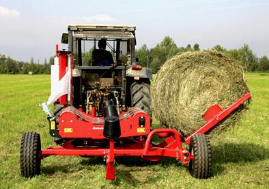 Order Transportation of agricultural equipment