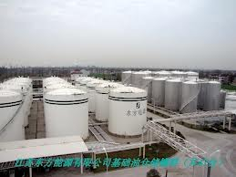 طلب Construction of tank farms