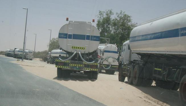 طلب (نقل المياه ( الصالحة للشرب – مياه الاُبار – مياه الحفر