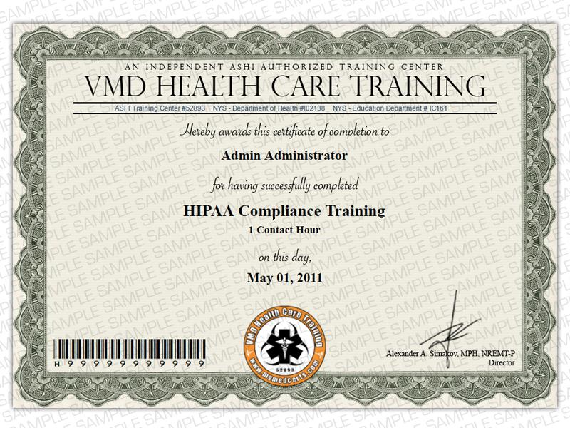 Order Medical certificates