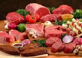 طلب دجاج ولحوم برازيلية ومجمدة